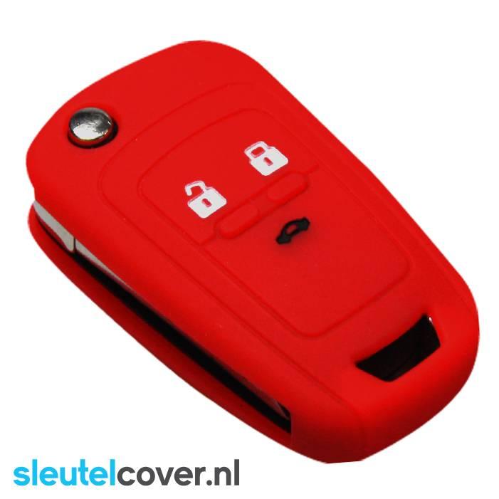 Chevrolet SleutelCover - Rood