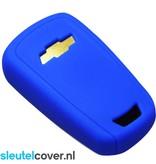Chevrolet SleutelCover - Donker Blauw