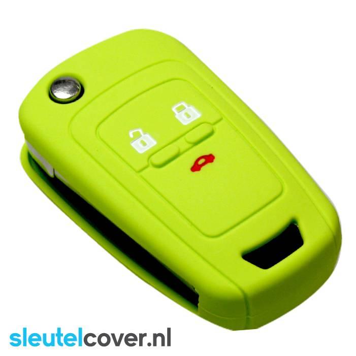 Chevrolet SleutelCover - Lime Groen