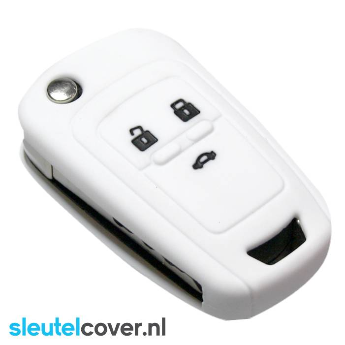 Chevrolet SleutelCover - Wit