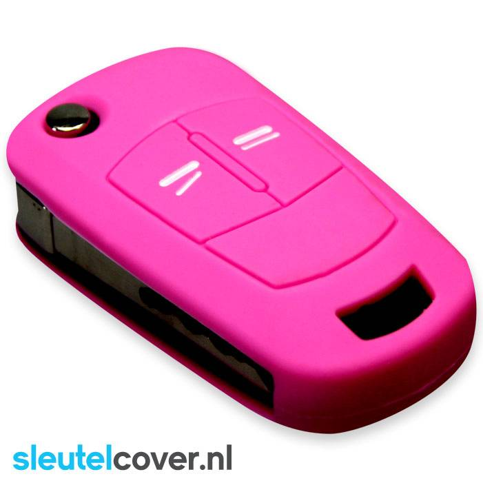 Opel SleutelCover - Roze