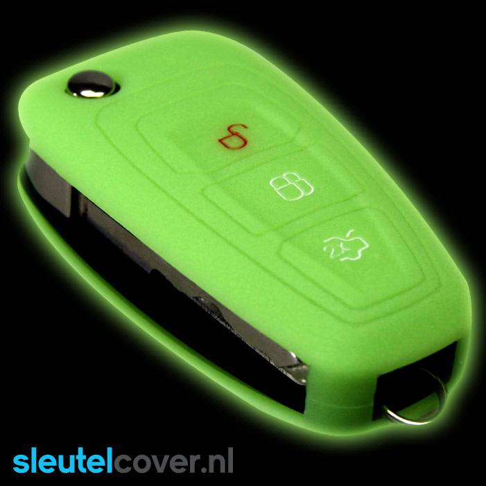 Ford SleutelCover - Glow in the Dark