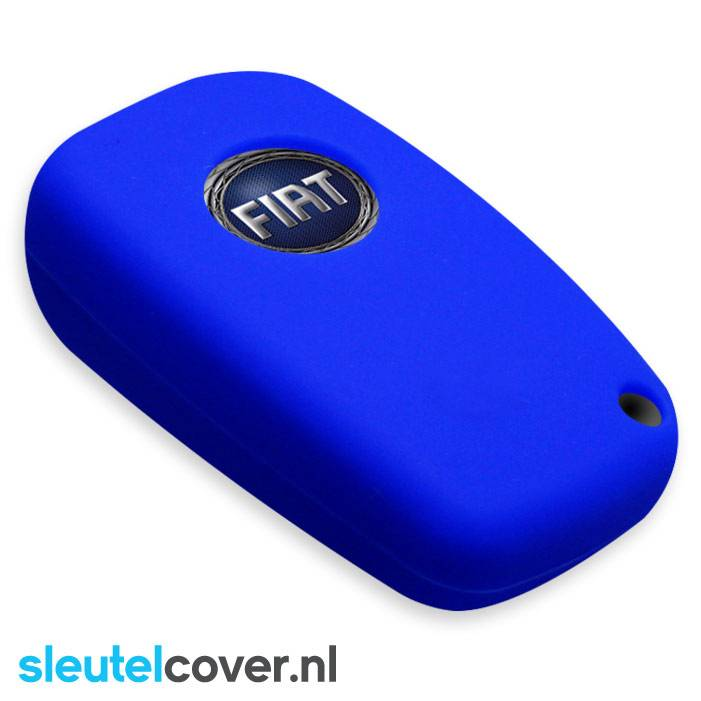 Fiat SleutelCover - Blauw