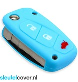 Fiat SleutelCover - Lichtblauw