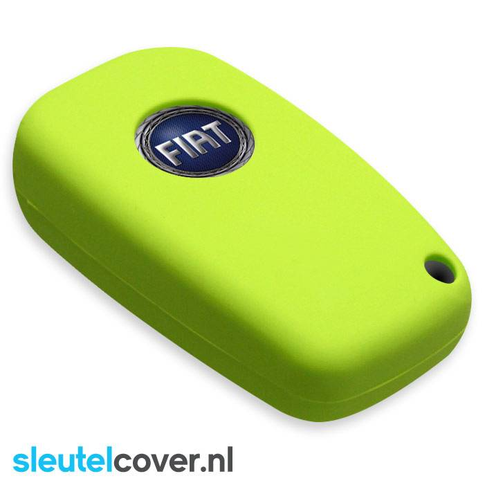 Fiat SleutelCover - Lime Groen