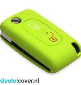 Peugeot SleutelCover - Lime groen