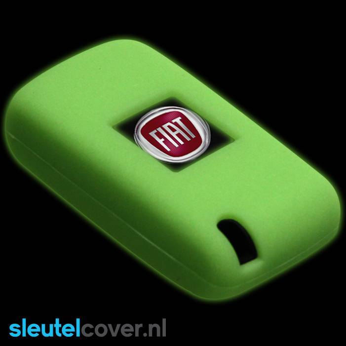 Fiat SleutelCover - Glow in the Dark