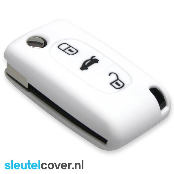 Citroën SleutelCover - Wit