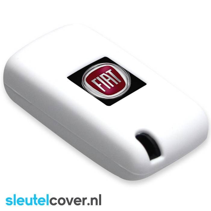 Fiat SleutelCover - Wit