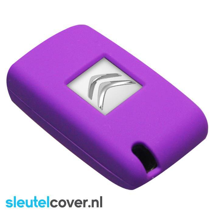 Citroën SleutelCover - Paars