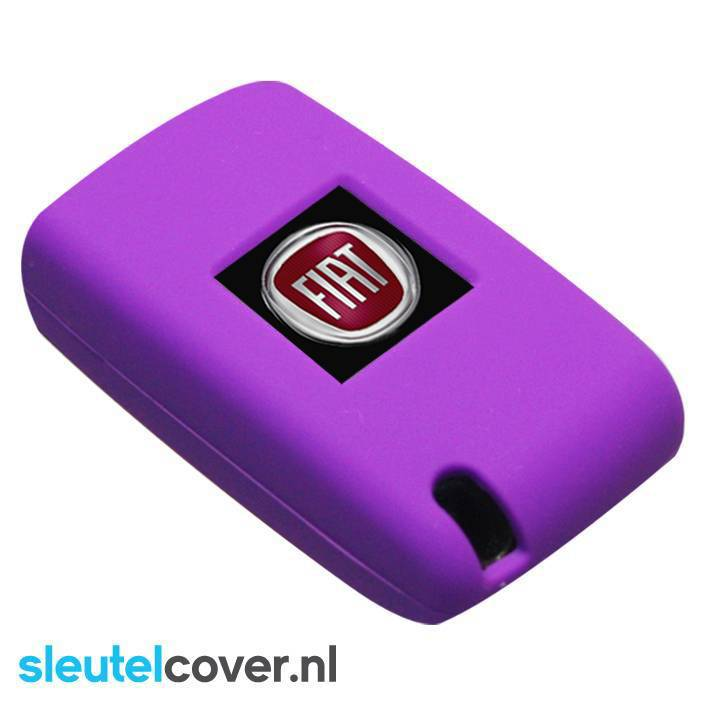 Fiat SleutelCover - Paars