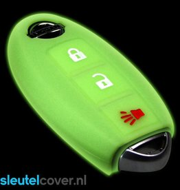 Nissan SleutelCover - Glow in the Dark