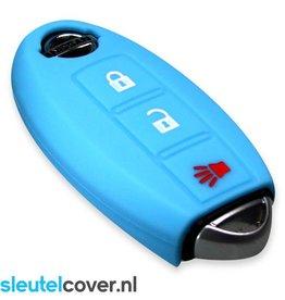 Nissan SleutelCover - Licht blauw