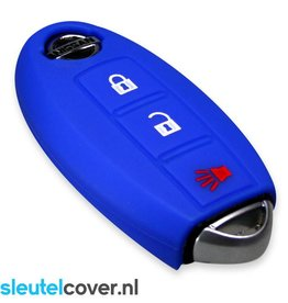 Nissan SleutelCover - Blauw