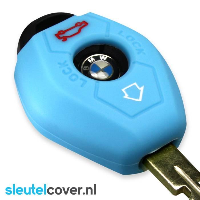 BMW SleutelCover - Lichtblauw