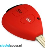 Toyota SleutelCover - Rood