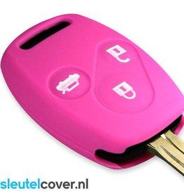 Honda SleutelCover - Roze