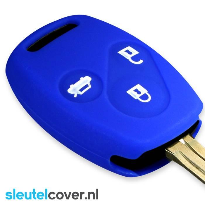 Honda SleutelCover - Blauw