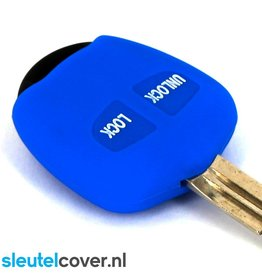Mitsubishi SleutelCover - Blauw