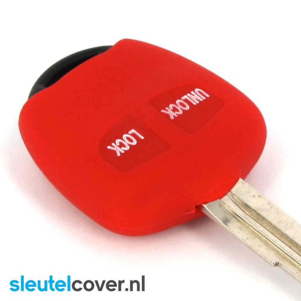 Mitsubishi SleutelCover - Rood
