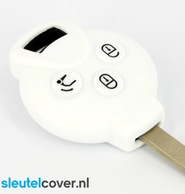 Smart SleutelCover - Wit