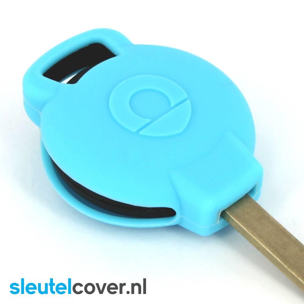 Smart SleutelCover - Lichtblauw
