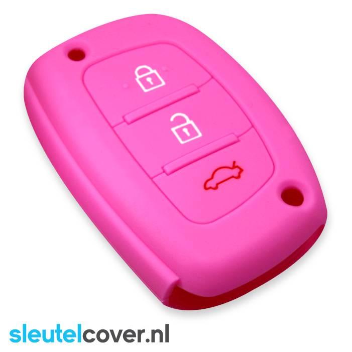 Hyundai SleutelCover - Roze