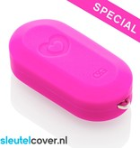 Fiat SleutelCover - Neon Roze