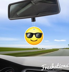 Freshations Luchtverfrisser | Emoticon - Sunglasses | New Car