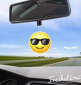 Freshtations Freshations Luchtverfrisser | Emoticon - Sunglasses | New Car