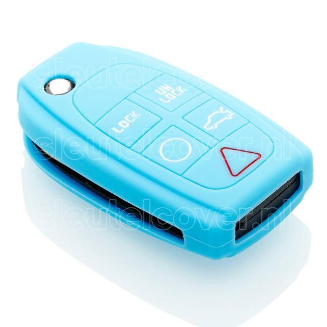 Volvo SleutelCover - Lichtblauw
