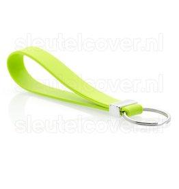 Sleutelhanger - Siliconen - Lime