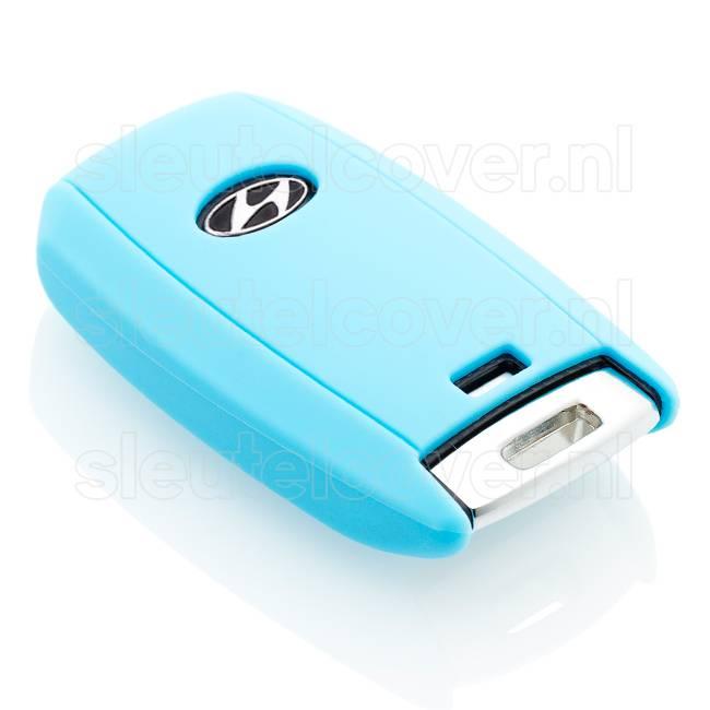 Hyundai SleutelCover - Lichtblauw