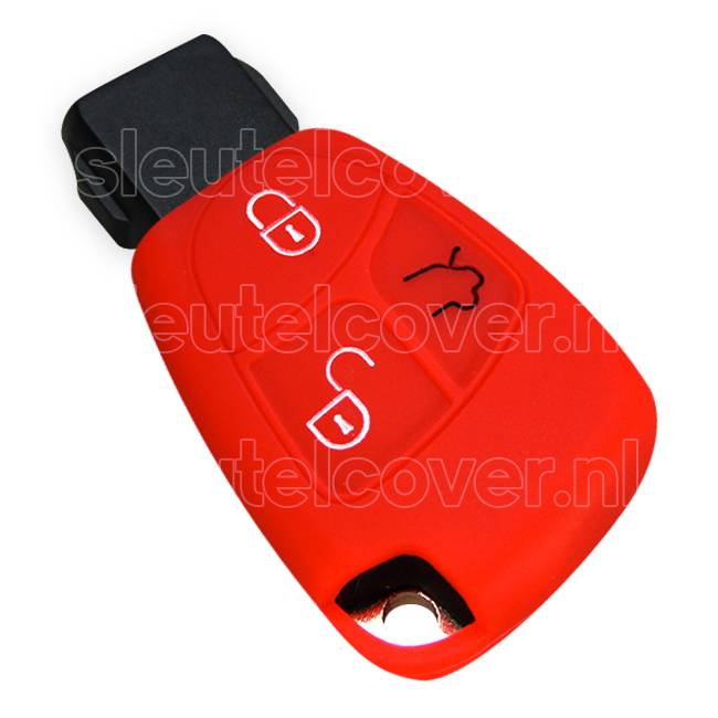 Mercedes SleutelCover - Rood