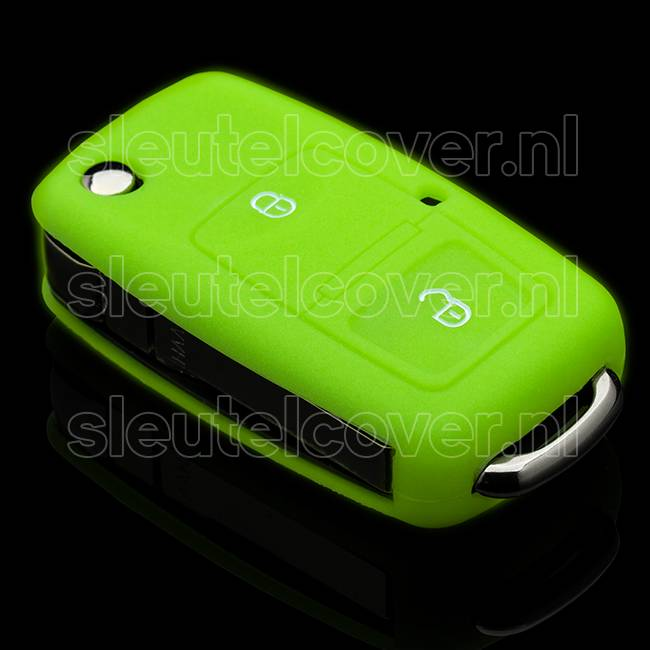 Skoda SleutelCover - Glow in the Dark