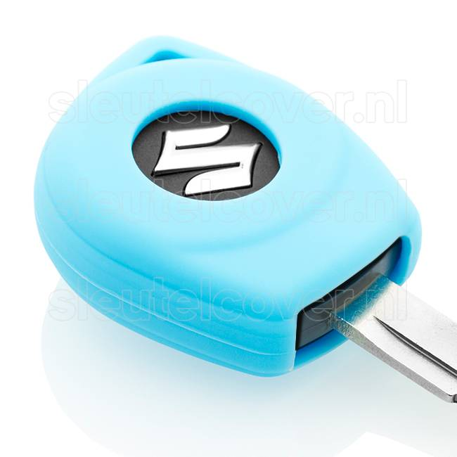 Suzuki SleutelCover - Lichtblauw