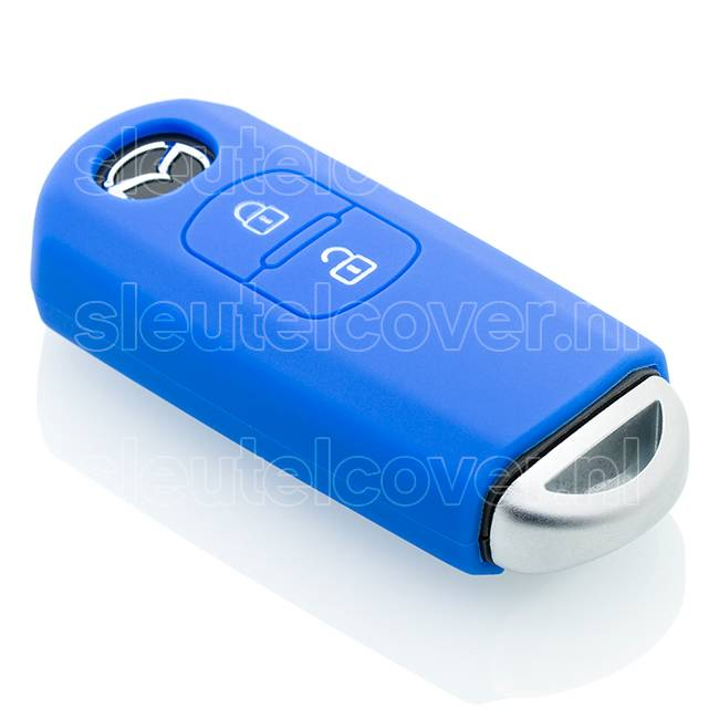 Mazda SleutelCover - Blauw