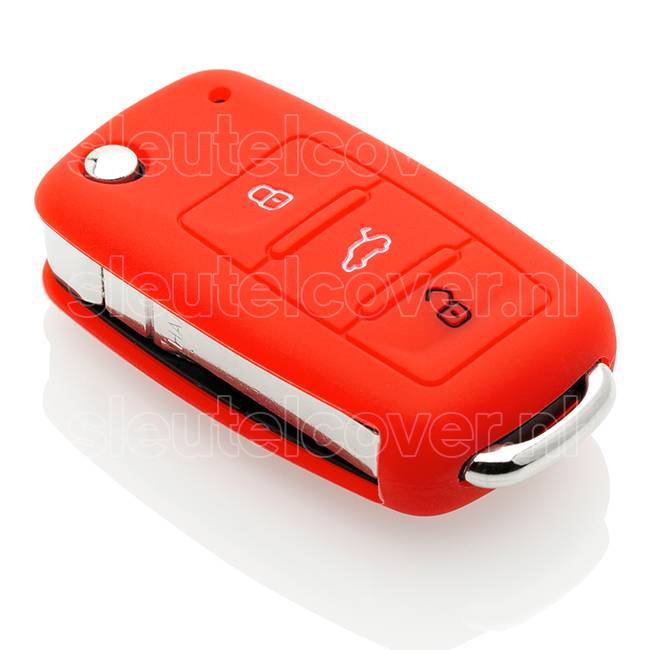 Audi SleutelCover - Rood