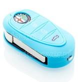 Alfa Romeo SleutelCover - Lichtblauw