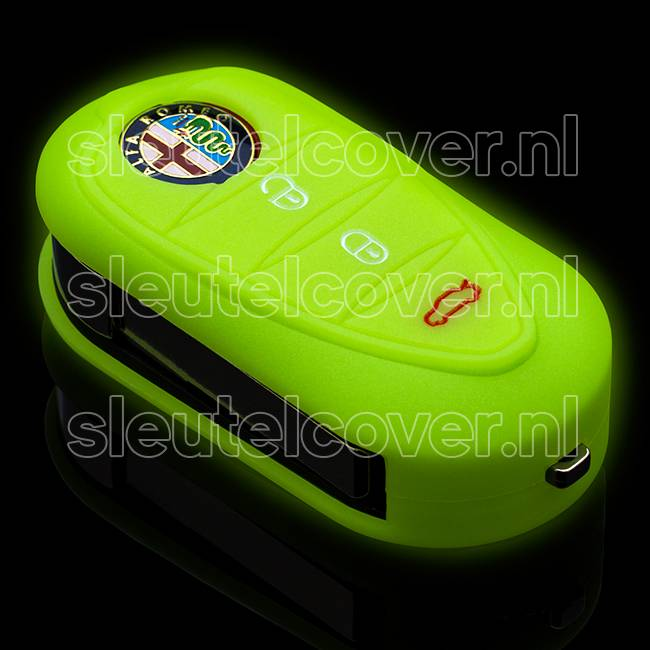 Alfa Romeo SleutelCover - Glow in the dark
