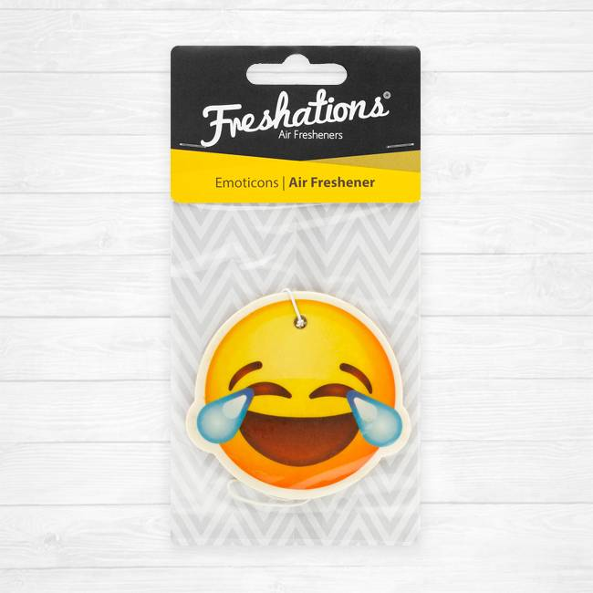 Freshations Luchtverfrisser | Emoticon - Laughing tears | Fruit Cocktail