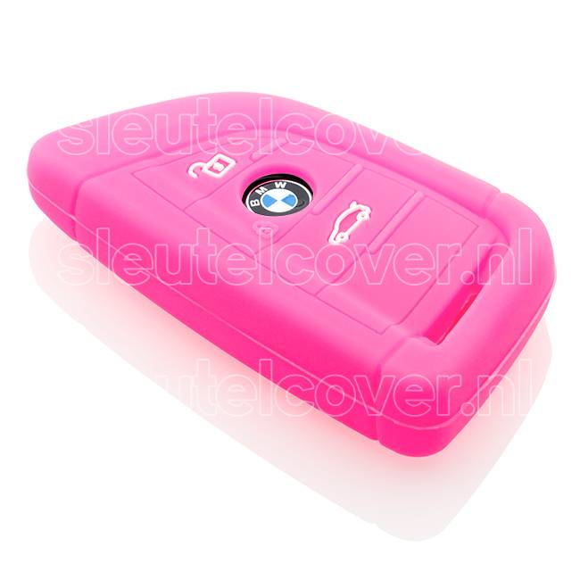 BMW SleutelCover - Fluor Roze