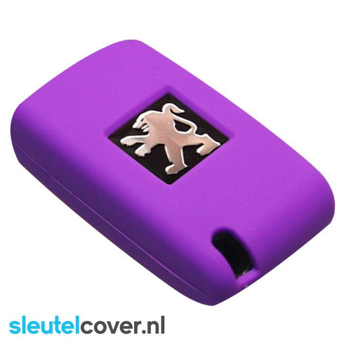 Peugeot SleutelCover - Paars