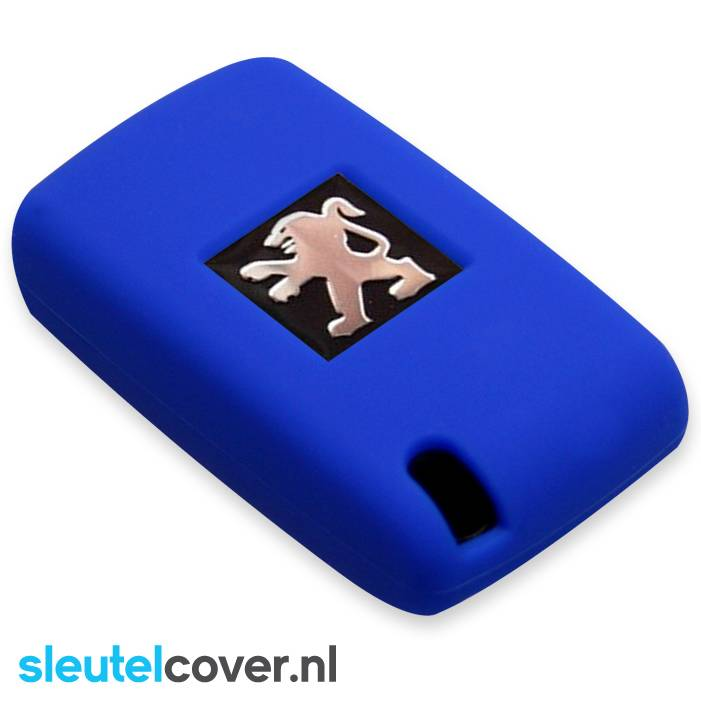 Peugeot SleutelCover - Blauw