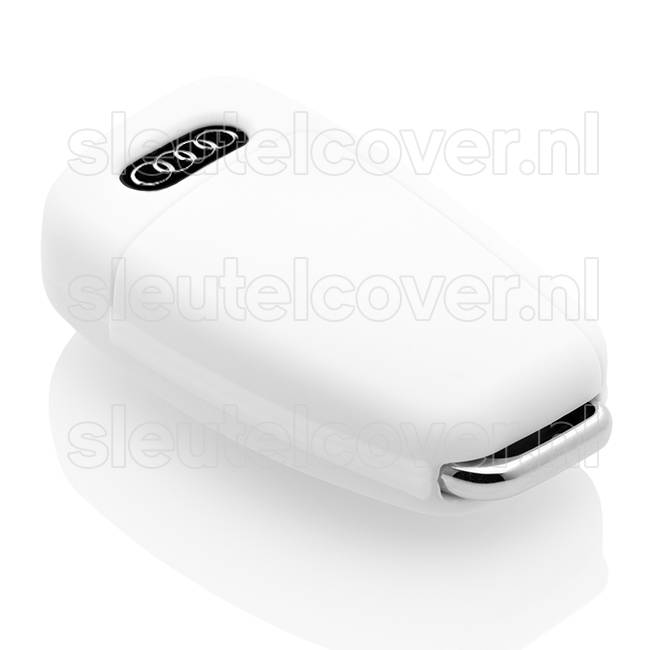 Audi SleutelCover - Wit