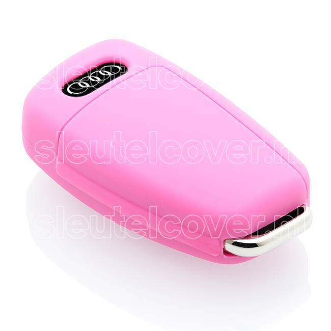 Audi SleutelCover - Roze