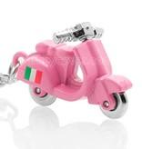 Sleutelhanger - Scooter - Vespa Italia - Roze