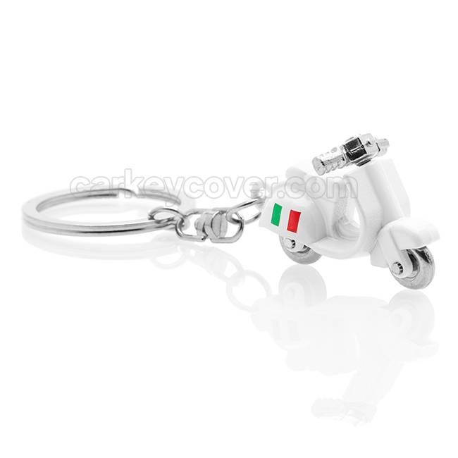 Vespa Italia Sleutelhanger - Scooter - Vespa Italia - Wit