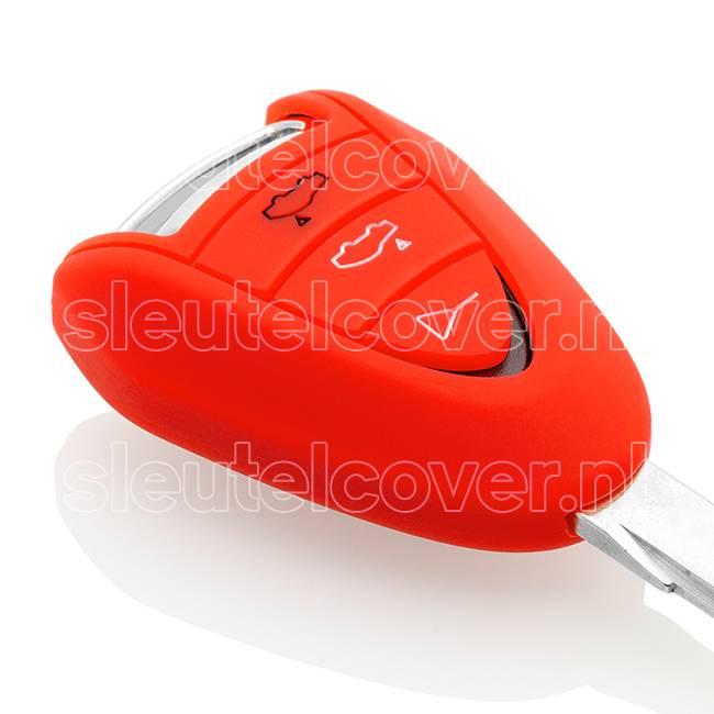 Porsche SleutelCover - Rood