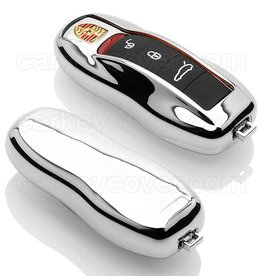 Porsche SleutelCover - Chroom (special)